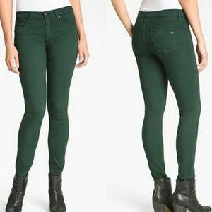 Rag & Bone PFD Jean skinny green jegging size 25